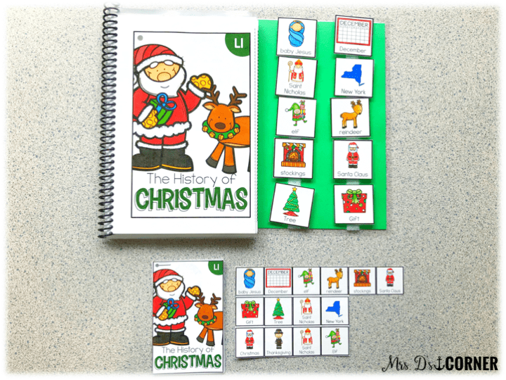 holidays around the world - how to print the books in mini adapted book form
