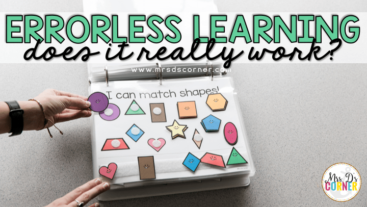 Does Errorless Learning Really Work? | Errorless Teaching