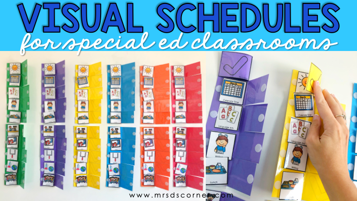 Visual Schedules in the Special Education Classroom