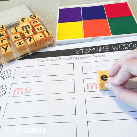 10+ Spelling Activities That Feel like Play - stamp it