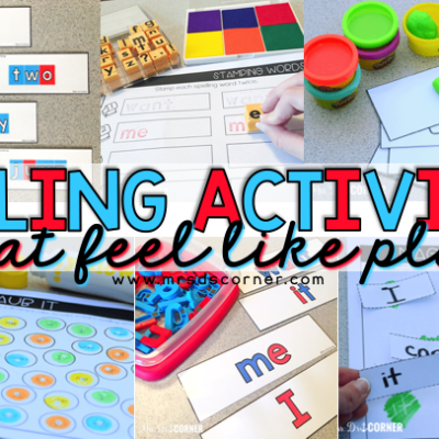 spelling activities that feel like play blog header