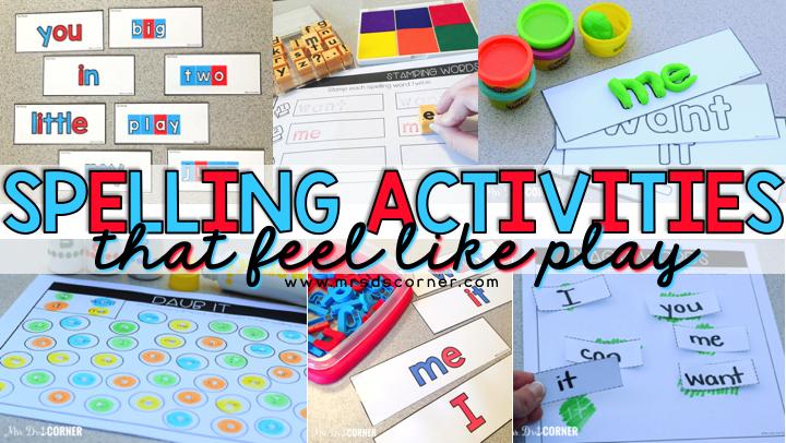 spelling activities that feel like play blog header