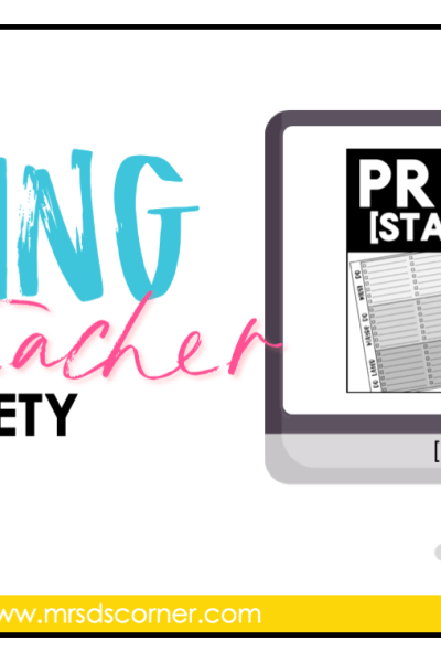 coping with teacher anxiety priorities to do list blog header