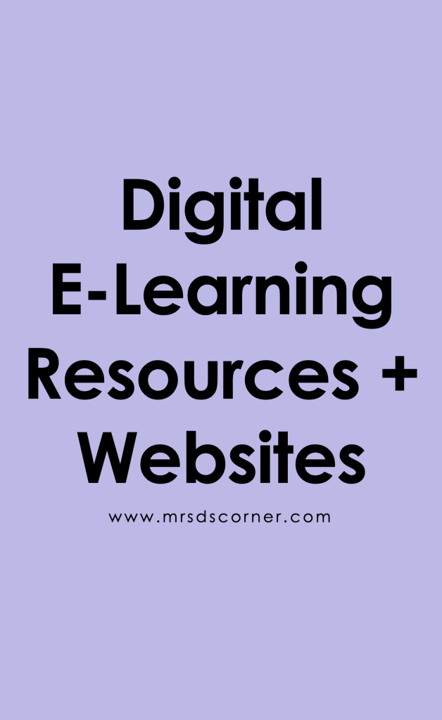 Digital Learning in Special Ed Pinterest Image