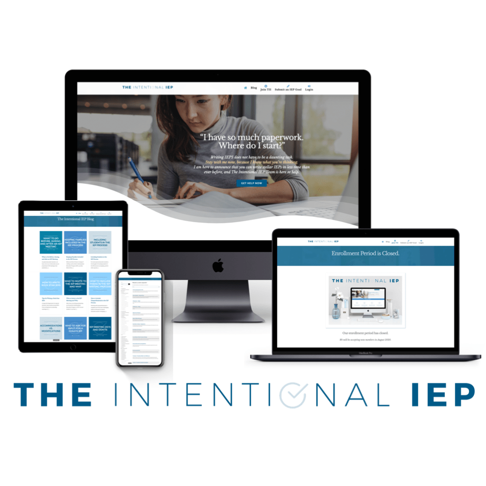 The Intentional IEP can be accessed on any device that has internet access!