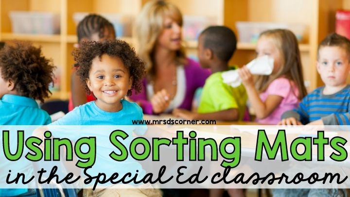 Using Sorting Mats in the Special Ed Classroom