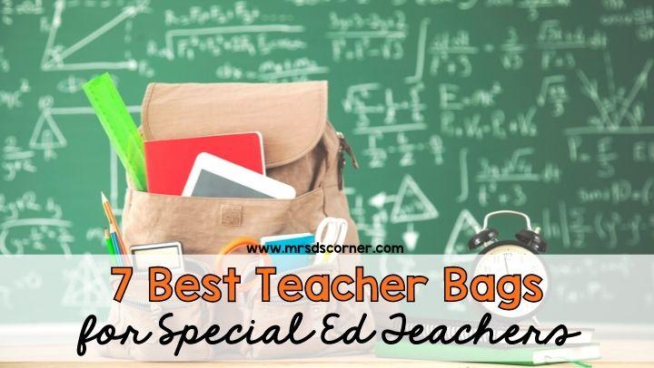 7 Best Teacher Bags for Special Ed Teachers