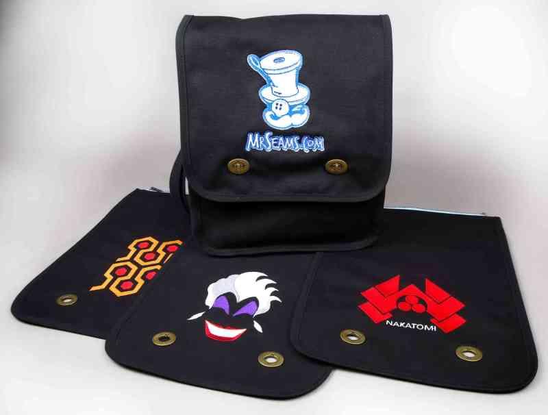 Flap Swap Bag & Three Flaps
