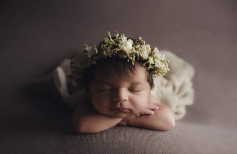 Nyföddfotografering Stockholm - Leah 9 dagar 24