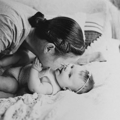 Barnfotografering Ida 6 månader 1-2