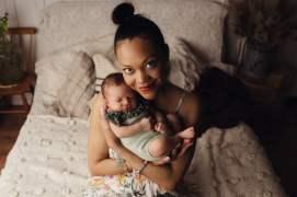 Nyföddfotografering Celine Stockholm