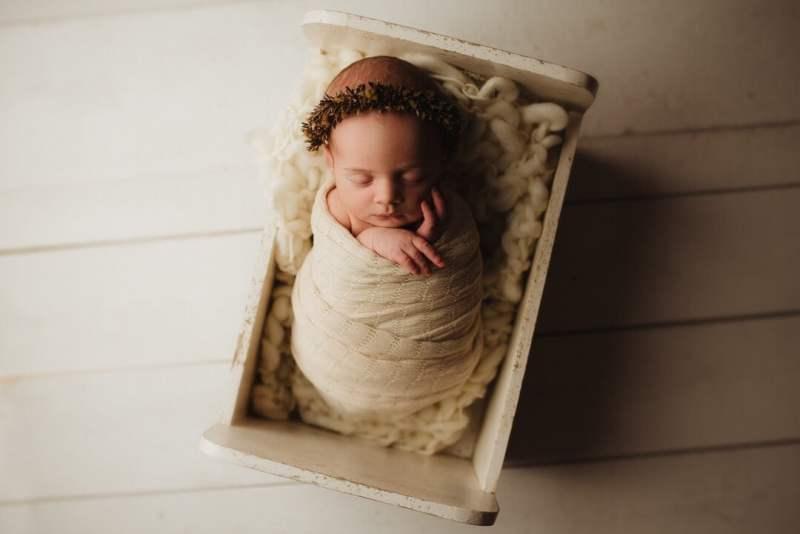 En Nyföddfotografering med Emma 2