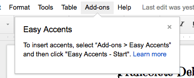Easy Accents Mrs. Geek Chic Screenshot2
