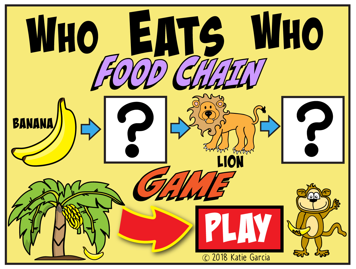 Food Chain Game Notes Mrs Gs Classroom