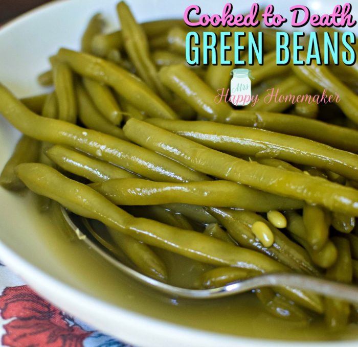 Cooked to Death Green Beans