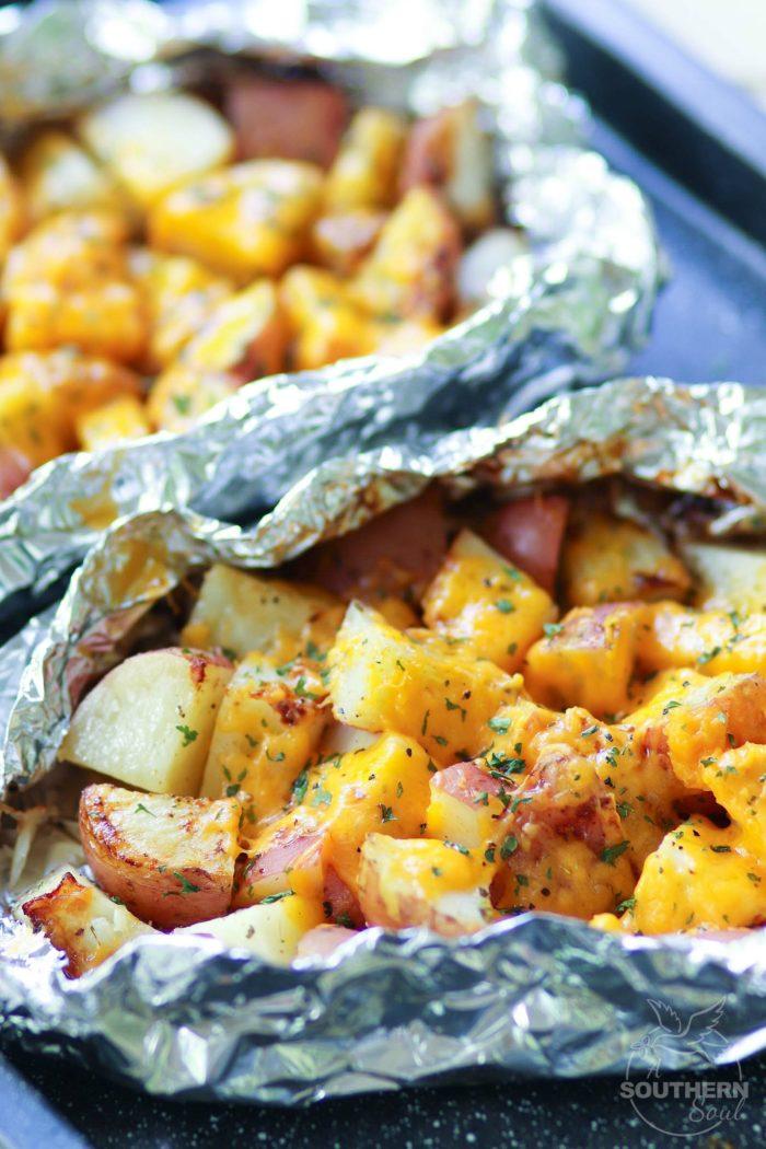 Cheesy Ranch Foil Potato Packs