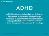 Fakta om ADHD