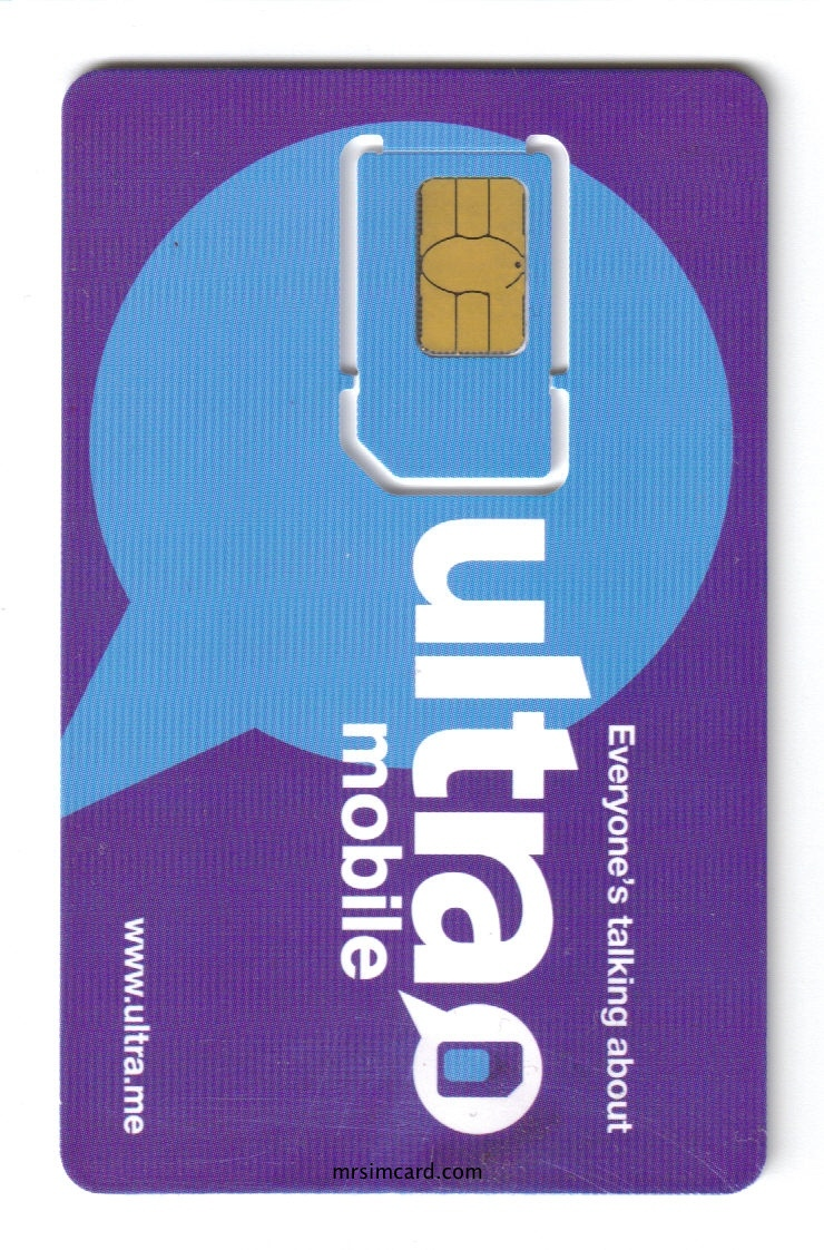 Ultra Mobile USA SIm Card