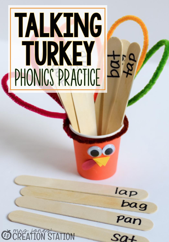 Talking Turkey Phonics Fun