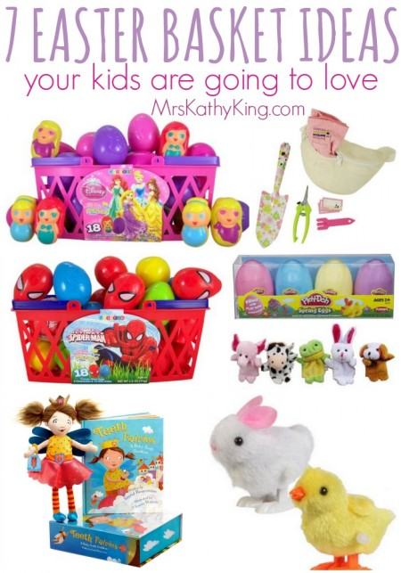 7 Cute Easter Basket Ideas For Kids