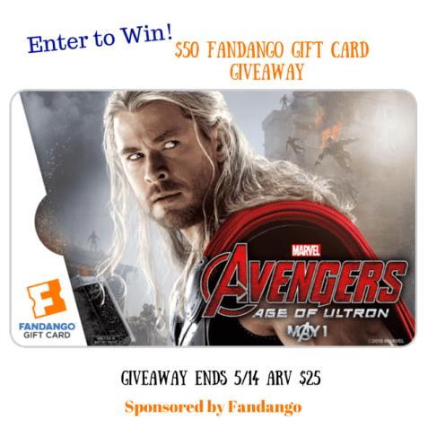 Avengers Age of Ultron  Fandango Gift Card Giveaway group