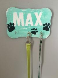 The Secret Life of Pets Birthday Party Idea DIY Dog Leash Holder feature image slider