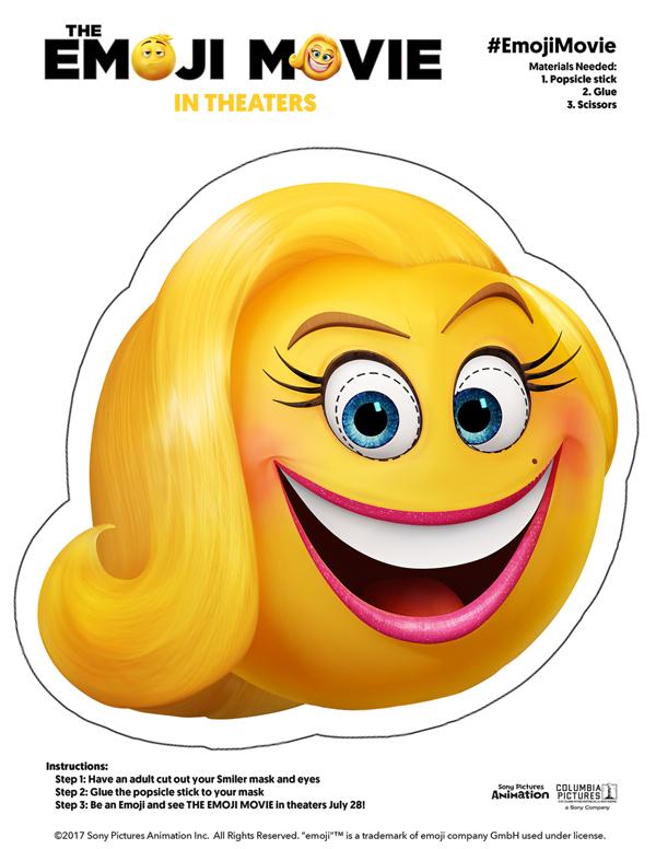 Printable Emoji Invitations