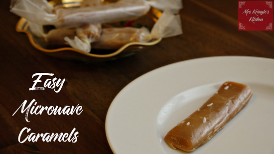 Easy Microwave Caramels