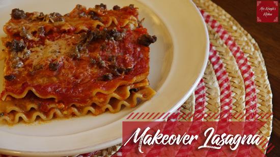 Makeover Lasagna
