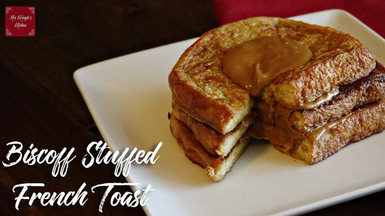 Biscoff® Stuffed French Toast