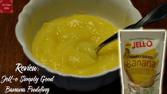 Food Review: Jell-o Simply Good Banana Pudding