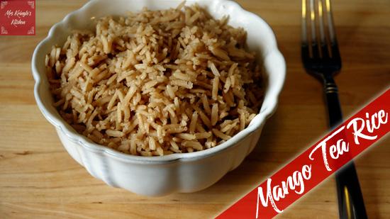 Mango Tea Rice