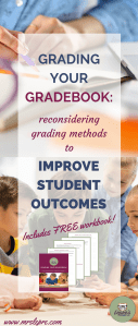 standards based grading | grading methods | how I grade | why I grade | what is the point of grades | how to grade