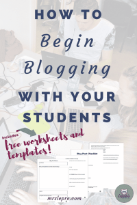 student blogging | blogging | wordpress | how to blog with students | why blog with students | lessons plans | blogging lessons plans | educational technology