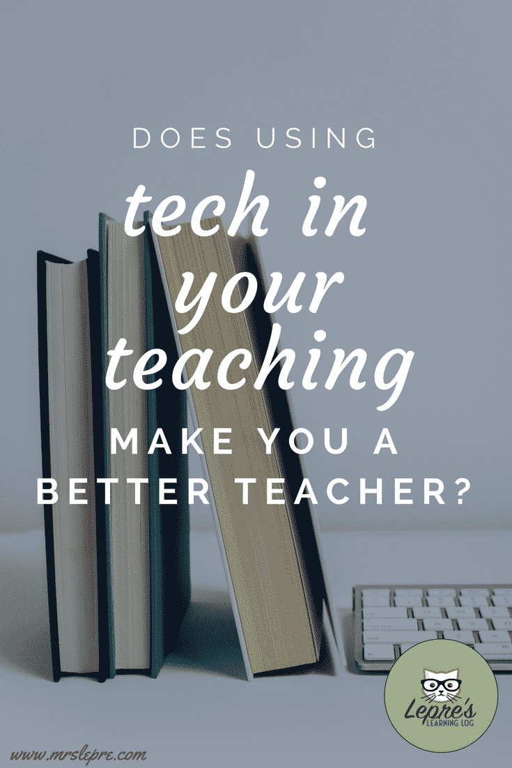 Using technology in teaching is not only the norm but is often expected. Does using this tech for the sake of using it always increase student learning? educational technology | edtech | how to teach with technology | ipads in the classroom | chromebooks in the classrom | chromebooks in teaching