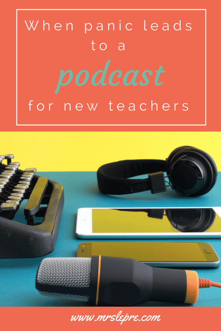 Teachers often take on more and more responsibilities despite having more than enough to do. A state of panic and anxiety prompted me to start a podcast just for new and beginning teachers. Will you be featured? podcast | teacher podcast | new teacher | new teachers | new teacher tips | beginning teacher | beginning teacher tips | first year teacher | first year training | first year of teaching | professional development