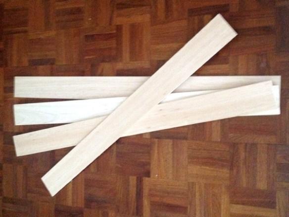 Balsa wood for window treatment