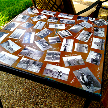 Mrs. Padilly's Heirloom Glamping Table