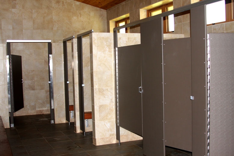 State Park Bathrooms don't get much better than this!