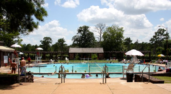 YMCA Pool Bastrop State Park