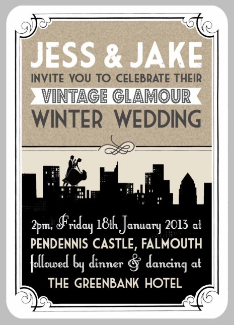 In the Treehouse wedding and celebration stationery