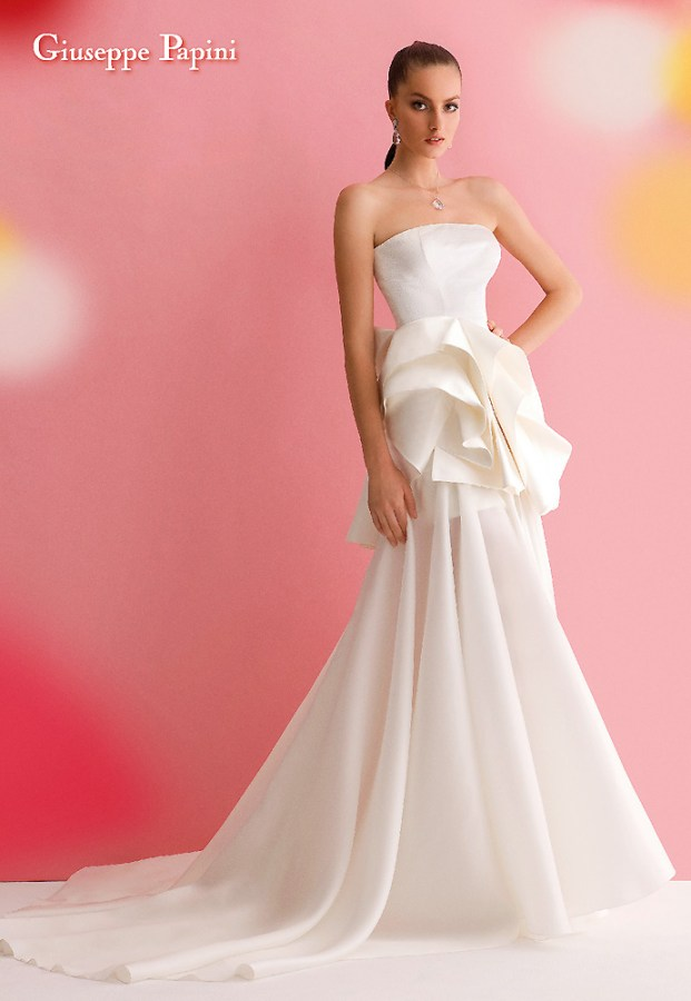 Giuseppe Papini Wedding Dress 2013 13