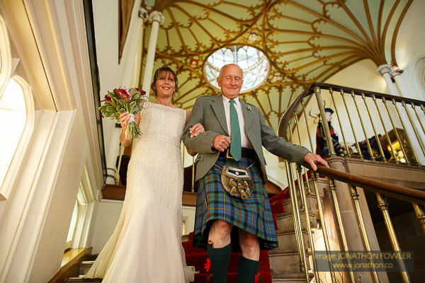 Dalhousie Castle wedding photos by Edinburgh wedding photographer-1019