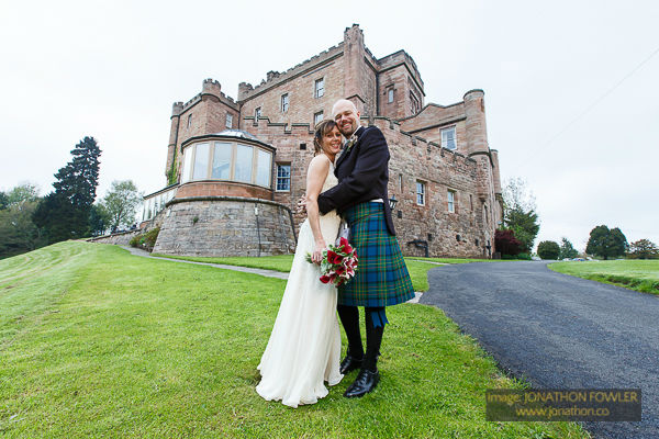 Dalhousie Castle wedding photos by Edinburgh wedding photographer-1036