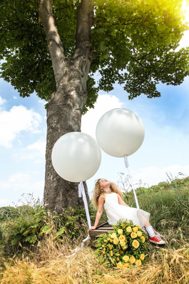 4. Outdoor fun with the 3ft balloons