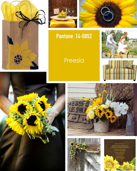 Pantone Colours For For Weddings For The Spring And Summer
