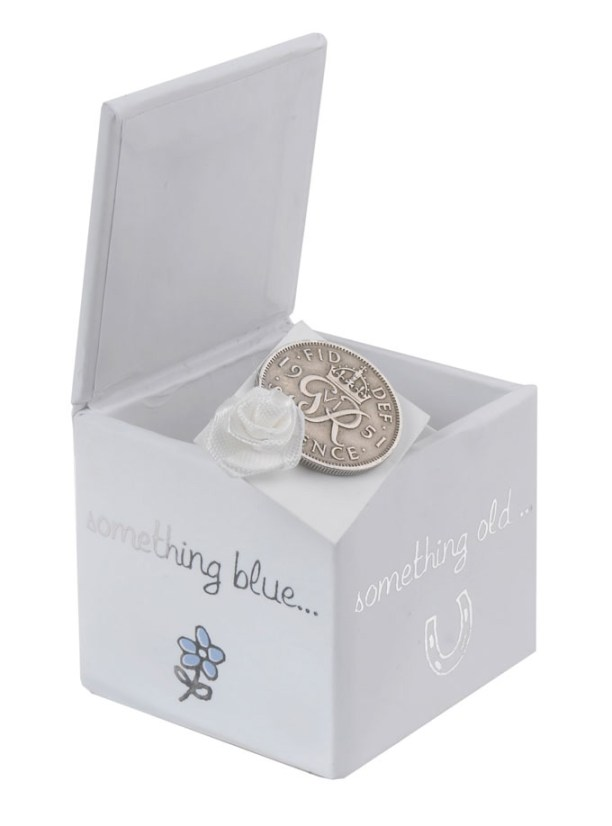 silver sixpence, wedding traditions, boux avenue
