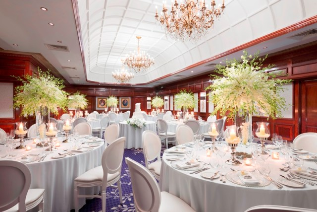 Edwardian Room, Taj St James Court London, Wedding Venue