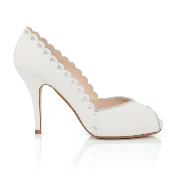 Love Hearts, Designer Bridal Footwear , Charlotte Mills, alice shoe