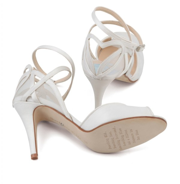 Love Hearts, Designer Bridal Footwear , Charlotte Mills, April shoe